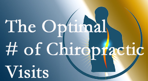 It's up to you and your pain as to how often you see the Colorado Springs chiropractor.