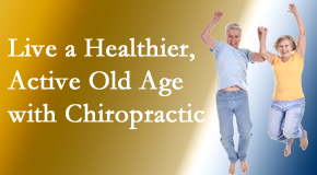 The Chiropractic TRUhealthDR welcomes older patients to incorporate chiropractic into their healthcare plan for pain relief and life's fun.