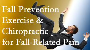 The Chiropractic TRUhealthDR shares new research on fall prevention strategies and protocols for fall-related pain relief.
