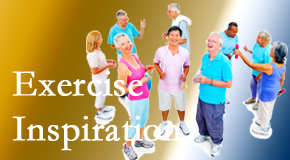 The Chiropractic TRUhealthDR hopes to inspire exercise for back pain relief by listening carefully and encouraging patients to exercise with others.