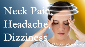 The Chiropractic TRUhealthDR helps relieve neck pain and dizziness and related neck muscle issues.