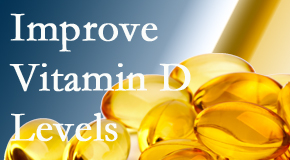 The Chiropractic TRUhealthDR explains that it's beneficial to raise vitamin D levels.
