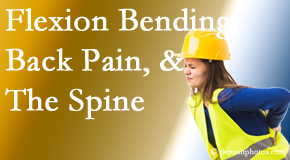 The Chiropractic TRUhealthDR helps workers with their low back pain because of forward bending, lifting and twisting.