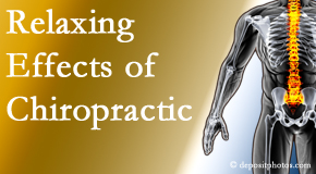 The Chiropractic TRUhealthDR offers spinal manipulation for its calming effects for stress responses.