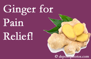 Colorado Springs chronic pain and osteoarthritis pain patients will want to investigate ginger for its many varied benefits not least of which is pain reduction.