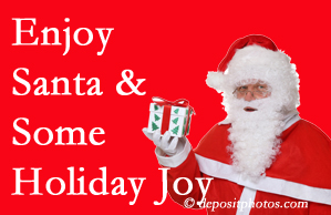 Colorado Springs holiday joy and even fun with Santa are analyzed as to their potential for preventing divorce and increasing happiness.