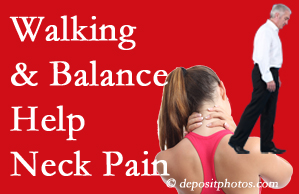 Colorado Springs exercise helps relief of neck pain attained with chiropractic care.