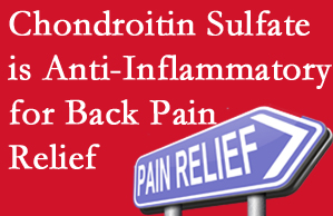 Colorado Springs chiropractic treatment plan at The Chiropractic TRUhealthDR may well include chondroitin sulfate!