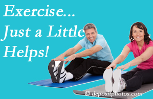 The Chiropractic TRUhealthDR encourages exercise for improved physical health as well as reduced cervical and lumbar pain.