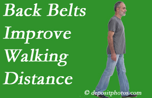 The Chiropractic TRUhealthDR sees value in recommending back belts to back pain sufferers.