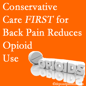 The Chiropractic TRUhealthDR delivers chiropractic treatment as an option to opioids for back pain relief.