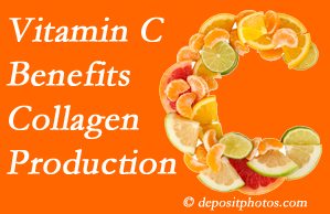 Colorado Springs chiropractic shares tips on nutrition like vitamin C for boosting collagen production that decreases in musculoskeletal conditions.