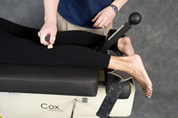 Colorado Springs chiropractic trigger point therapy in the leg